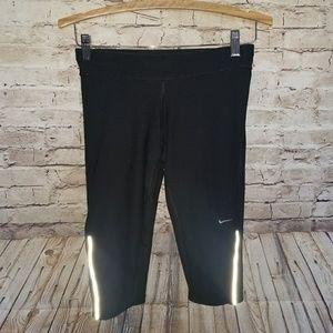 NIKE Dri Fit Running Crop Capri Pants